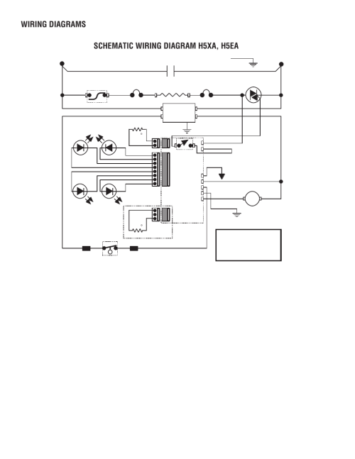 small resolution of 230 volts a c 2 wire single phase schematic wiring diagram h5xa h5ea wiring