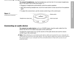 onnecting ther devices connecting headphones bose companion 5 user manual page 17 56 [ 954 x 1235 Pixel ]