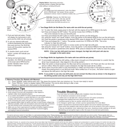 tachometer shift point selection installation tips auto meter 4999 user manual page 3 3 [ 954 x 1235 Pixel ]