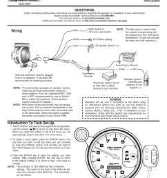 pro comp auto meter tach wiring diagram wiring diagram sample mix auto meter 6834 user manual [ 954 x 1235 Pixel ]