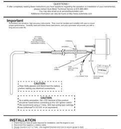 autometer amp wiring diagram [ 954 x 1235 Pixel ]