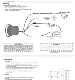 auto meter tach wiring diagram wires wiring diagram auto meter 5690 user manual 3 pages also [ 954 x 1235 Pixel ]
