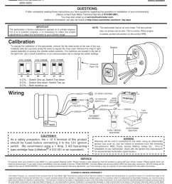 auto meter tachometer wiring wiring diagram third levelauto meter 2893 user manual 1 page also for [ 954 x 1235 Pixel ]