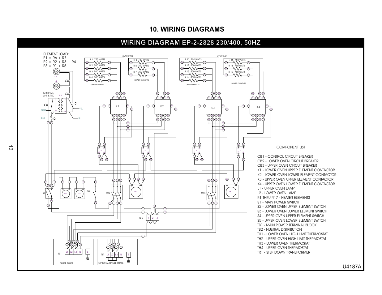 Wiring Diagrams U A