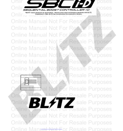 blitz sbc i d optional harness user manual 2 pages acdelco alternator wiring diagram sbc parts diagram [ 954 x 1235 Pixel ]