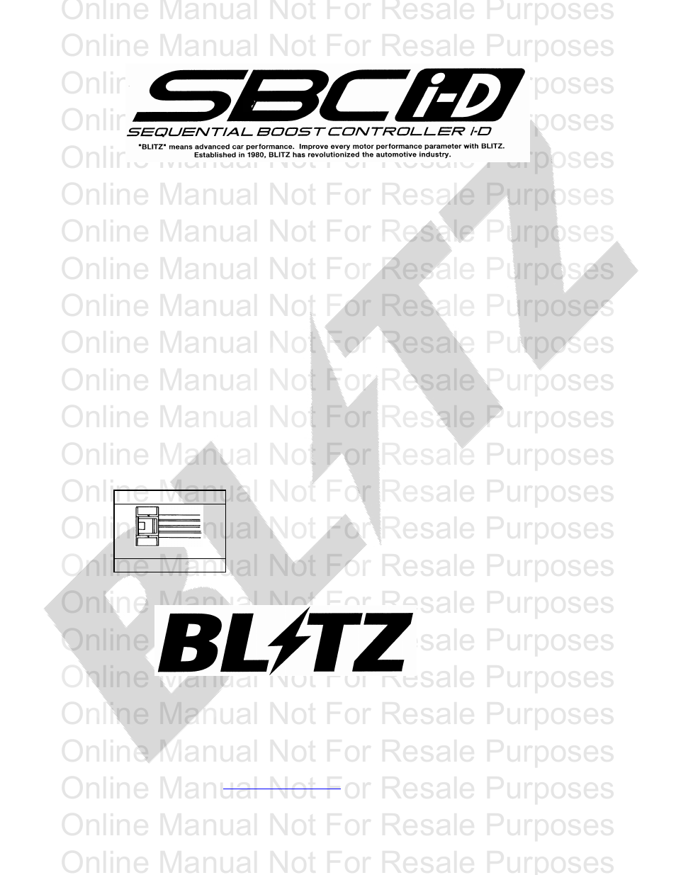medium resolution of blitz sbc i d optional harness user manual 2 pages acdelco alternator wiring diagram sbc parts diagram