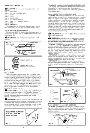 How to operate | Daisy PowerLine 880 User Manual | Page 3  8