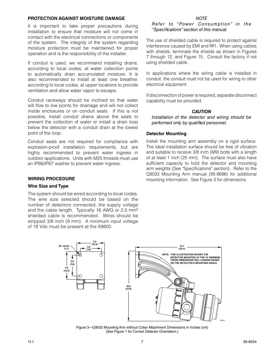hight resolution of ir detector wiring