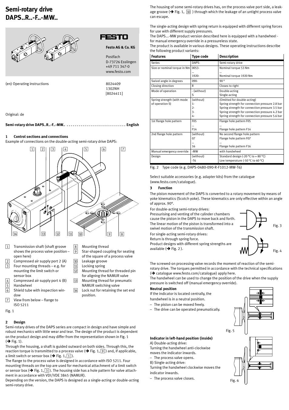 hight resolution of festo daps r f mw user manual 5 pages festo valve limit switch festo limit switch wire diagram 2