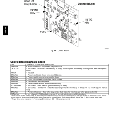 control board diagnostic codes bryant 4 way multipoise 359aav user manual page 44 44 [ 954 x 1235 Pixel ]