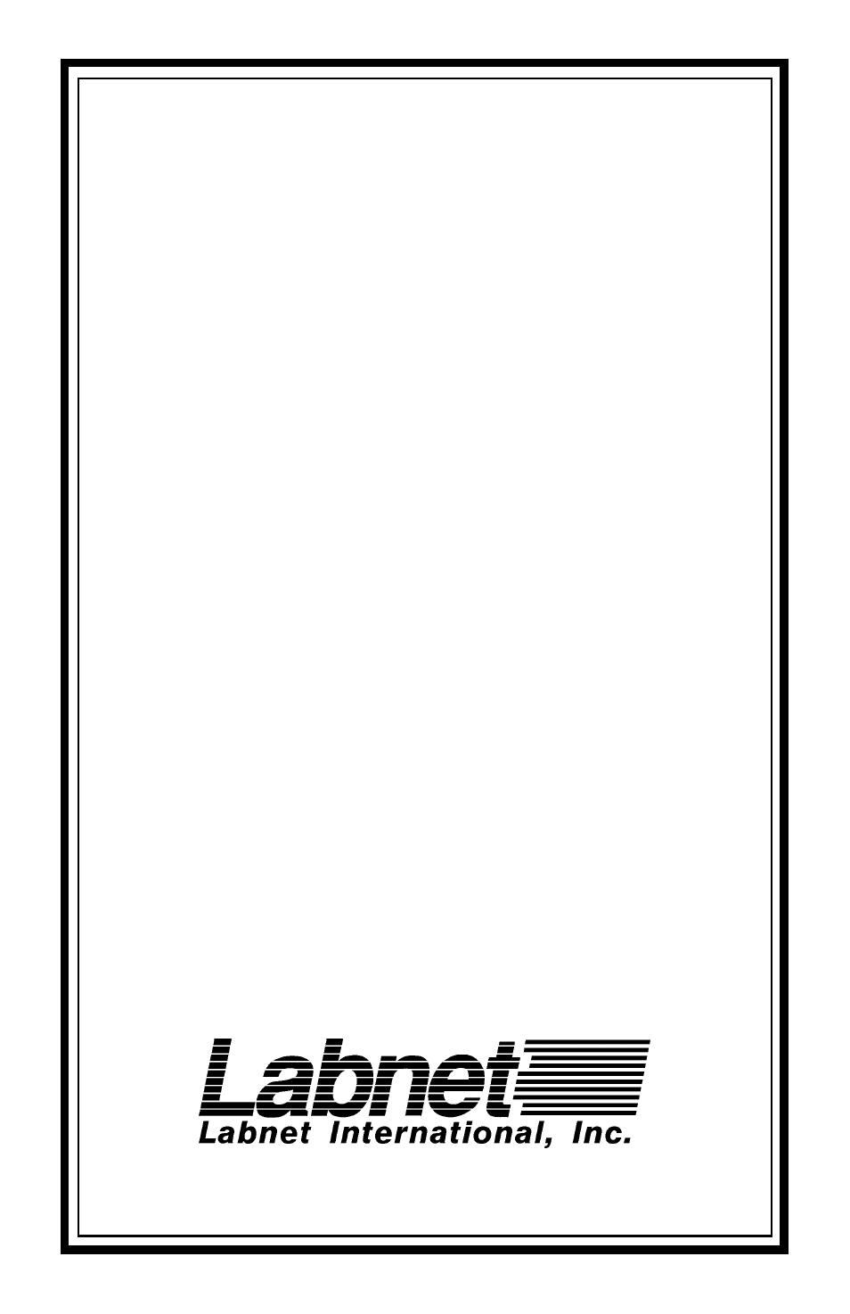 Labnet AccuBlock Digital Dry Baths (D1100 and D1200) User