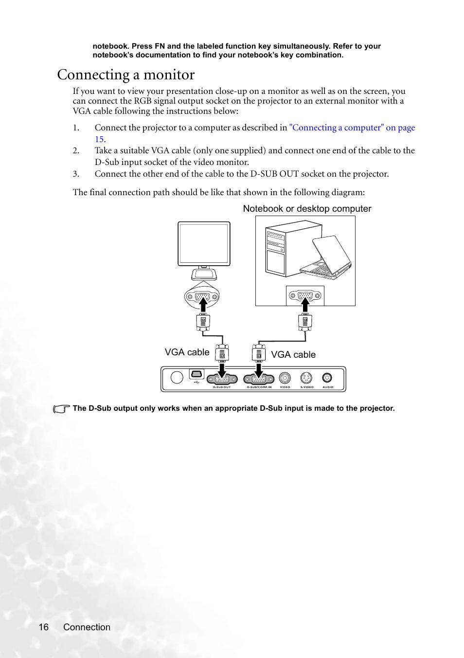 medium resolution of d sub vga connector diagram