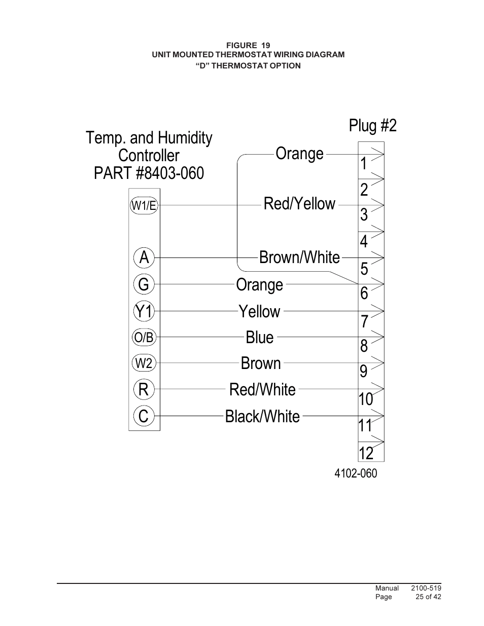 hight resolution of 2orange red white blue 9 ry1 plug 2 c bard qtec series