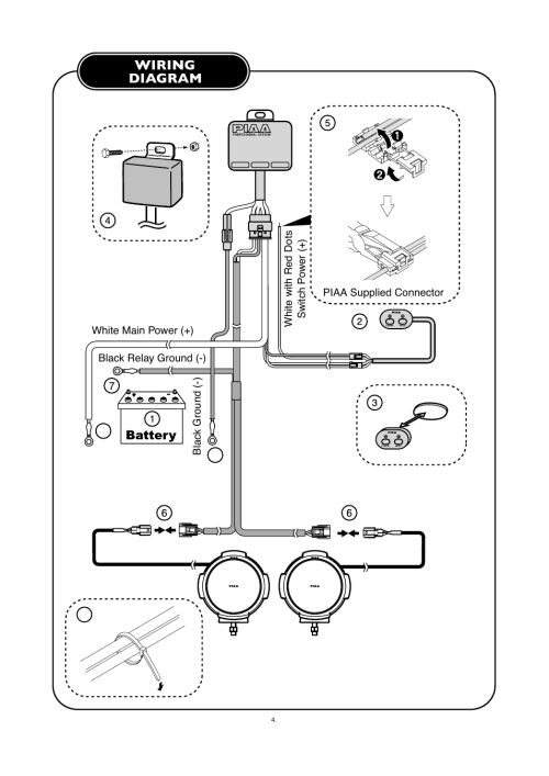 small resolution of wiring diagram piaa rs800 halogen shock lamp user manual page 5 8piaa wiring diagram 15