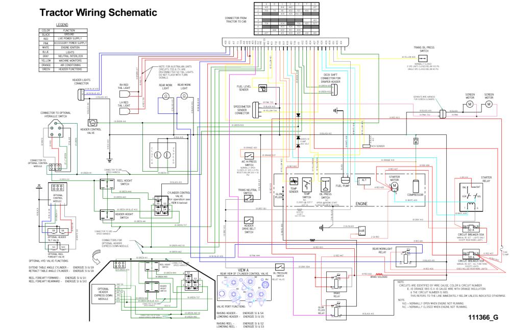 medium resolution of tractor wiring schematic mengine view a legend batt bat aux 50