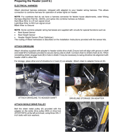 assembly preparing the header cont d macdon 873 combine adapter user manual page 50 91 [ 954 x 1235 Pixel ]