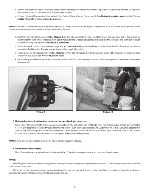 small resolution of s s cycle ist ignition system for s s v series engines with flywheel machined for crank trigger user manual page 8 14