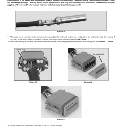 s s cycle efi wire harness for custom frame applications using s s fuel injected engines and delphi style modules user manual page 10 16 [ 954 x 1235 Pixel ]