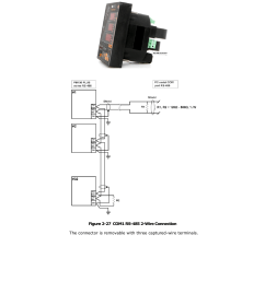 rs 485 2wire wiring diagram com1 rs 485 connection satec pm130 plus manual user manual page 36  [ 954 x 1349 Pixel ]