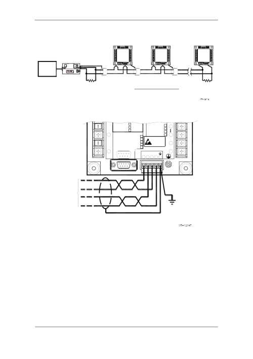 small resolution of rs 485 multi drop connection rx tx satec pm175 manual user manual page 31 168