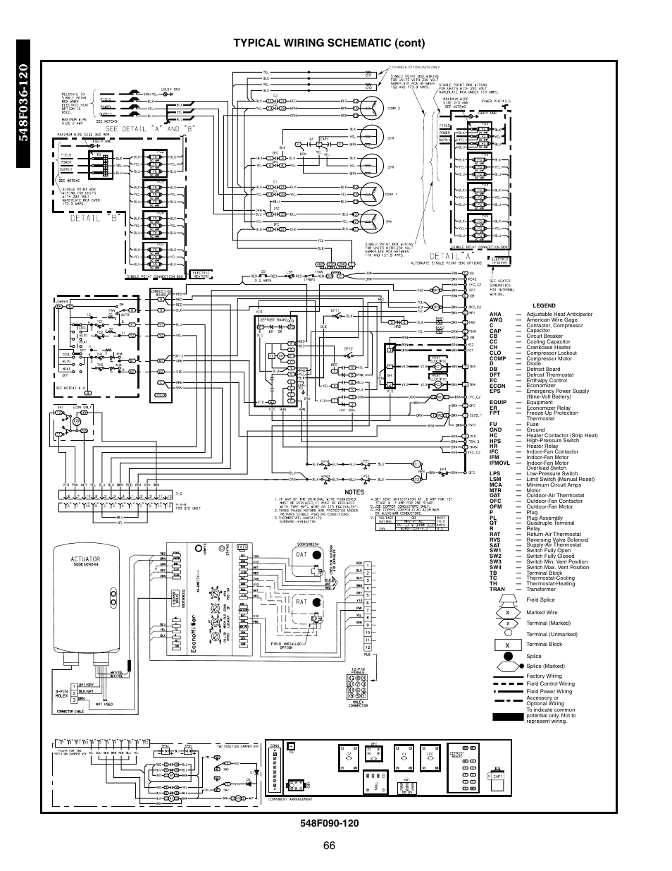hight resolution of 66 typical wiring schematic cont bryant 548f user manual page 66 122