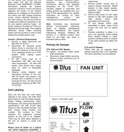 fan unit air flow up field wiring titus fan powered term iom rh manualsdir com titus [ 954 x 1235 Pixel ]