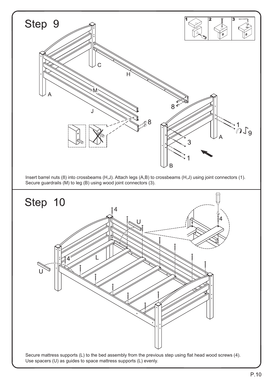 Panasonic Patio Furniture User Manual