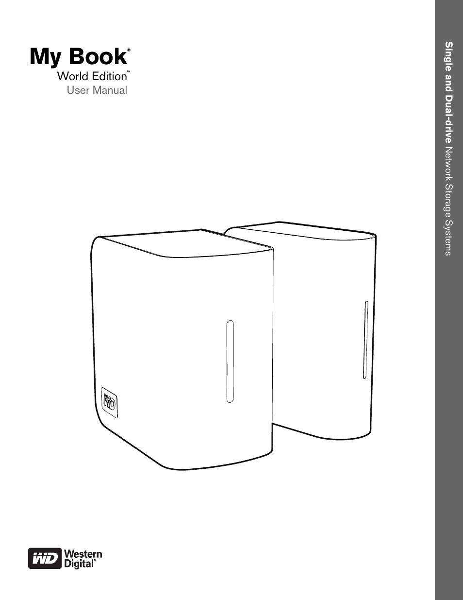 Western Digital My Book World Edition (white light) User