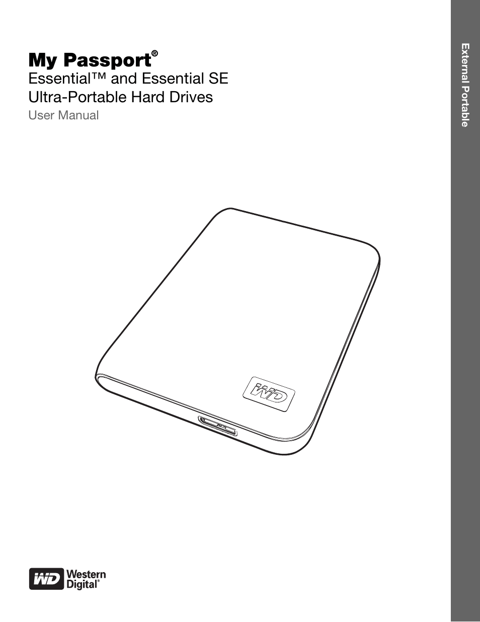 Western Digital My Passport Essential SE User Manual User