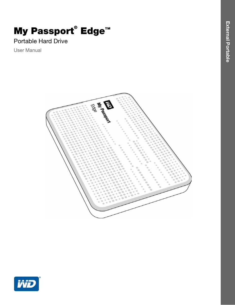 Western Digital My Passport Edge User Manual User Manual