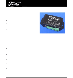 wilson manifolds 810100 progressive nitrous controller and vehicle data logger user manual 18 pages [ 954 x 1235 Pixel ]