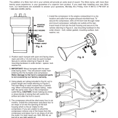 Wolo Bad Boy Wiring Diagram 2 Pole Contactor Air Horn Library Source 425 La Cucaracha User Manual Pages Also