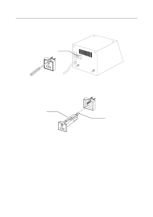 small resolution of replacing fuse yamato scientific vacuum controller vacuum controller user manual page 28 34