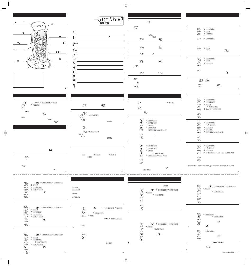 BINATONE FUSION 2510 PDF