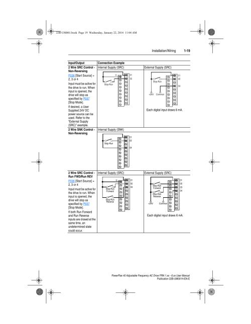 small resolution of installation wiring 1 19 rockwell automation 22b powerflex 40 frn pioneer avic d3 wiring diagram powerflex 40 wiring diagram