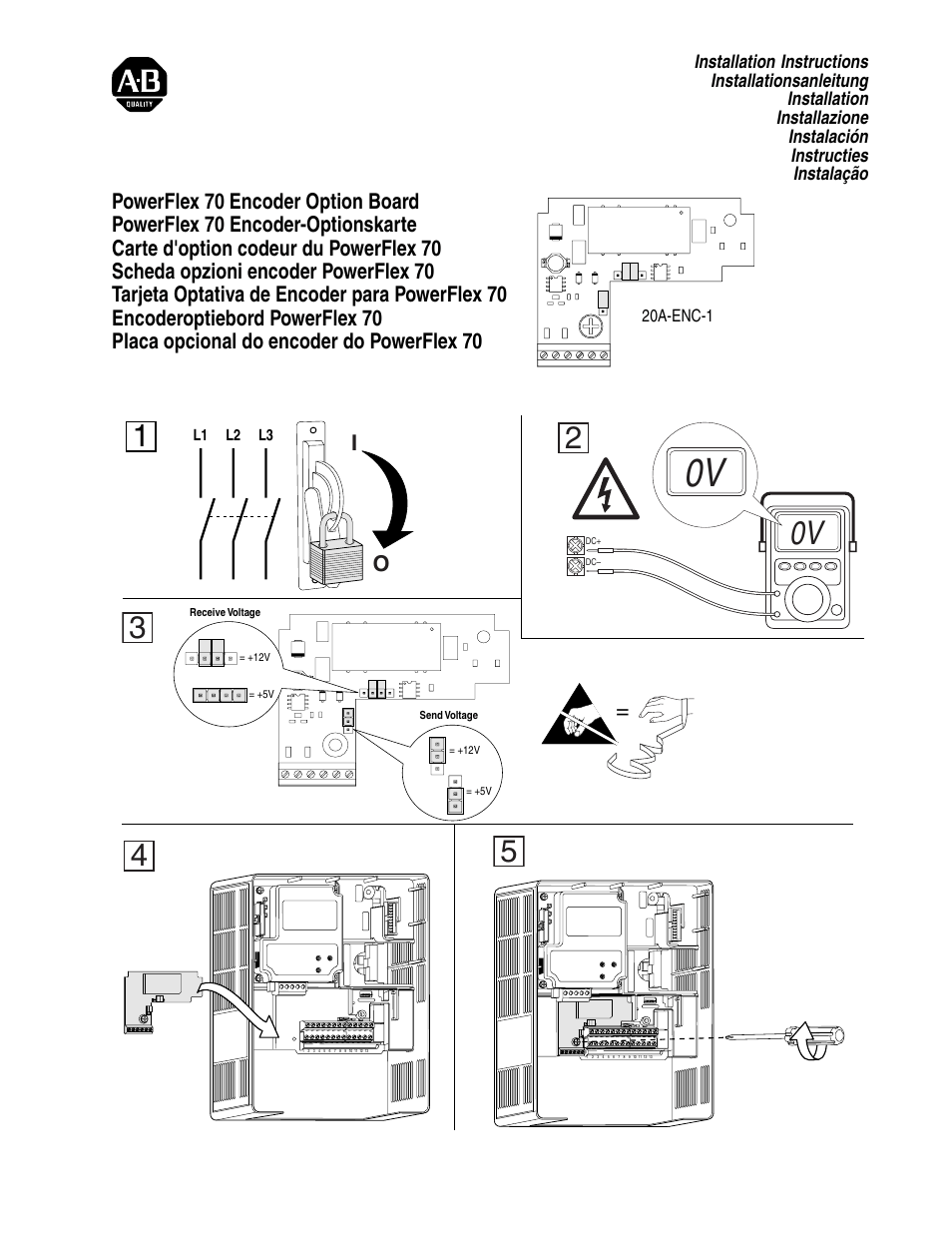 Powerflex 70 Encoder Wiring Diagram Allen Bradley Motor