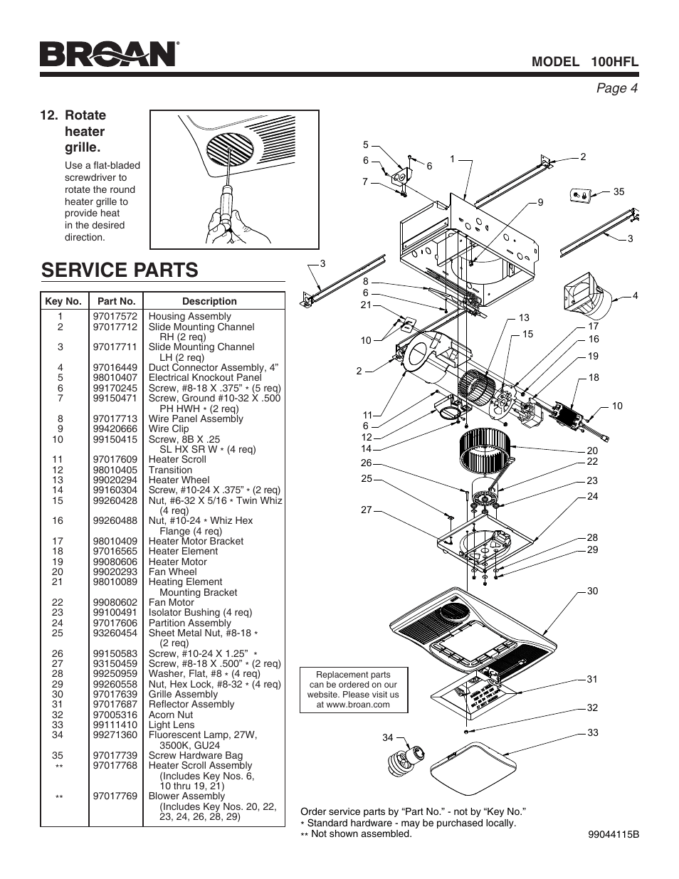 User's manual of Generic Electric Fan Conversion Wiring