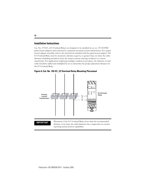 small resolution of installation instructions rockwell automation 193 592 ec1 ec3 ec5 e3 and