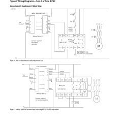 original instructions typical wiring diagrams safe 4 or safe 4 pac connection with guardmaster si safety relay rockwell automation 445l guardshield safe  [ 954 x 1235 Pixel ]