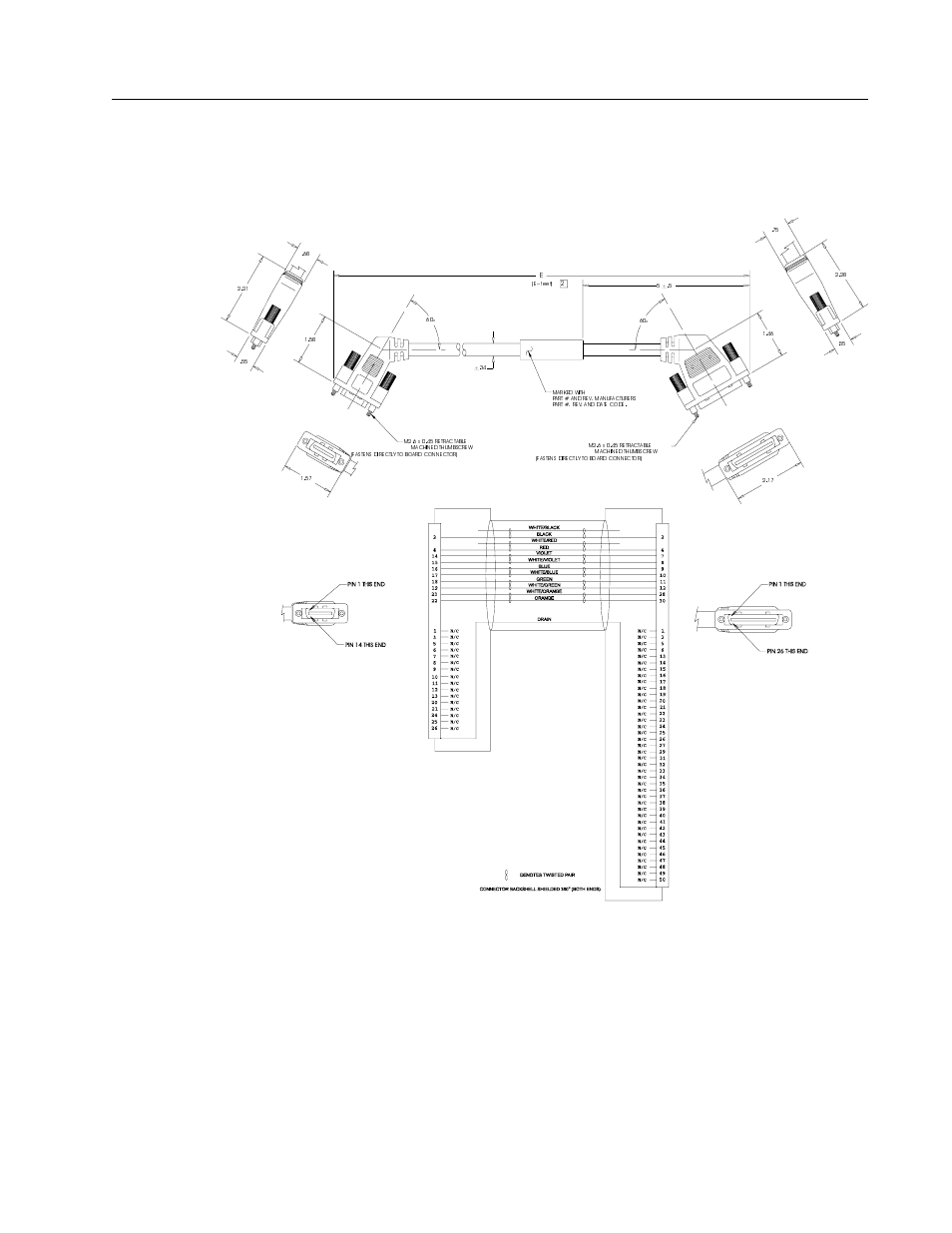 Interface cables, Cable diagrams, schematics and examples