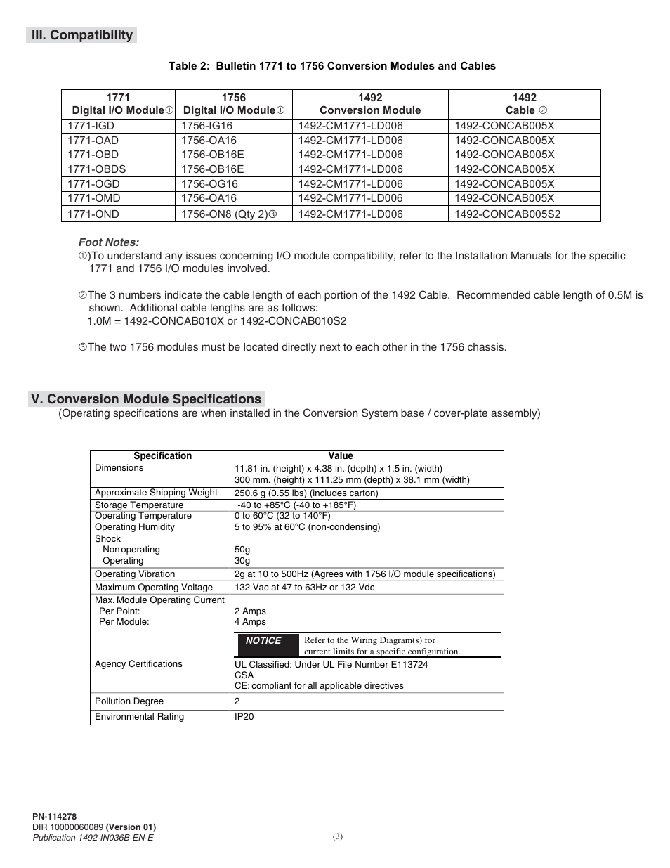 medium resolution of rockwell automation 1492 cm1771 ld006 field conversion module user manual page 3 12