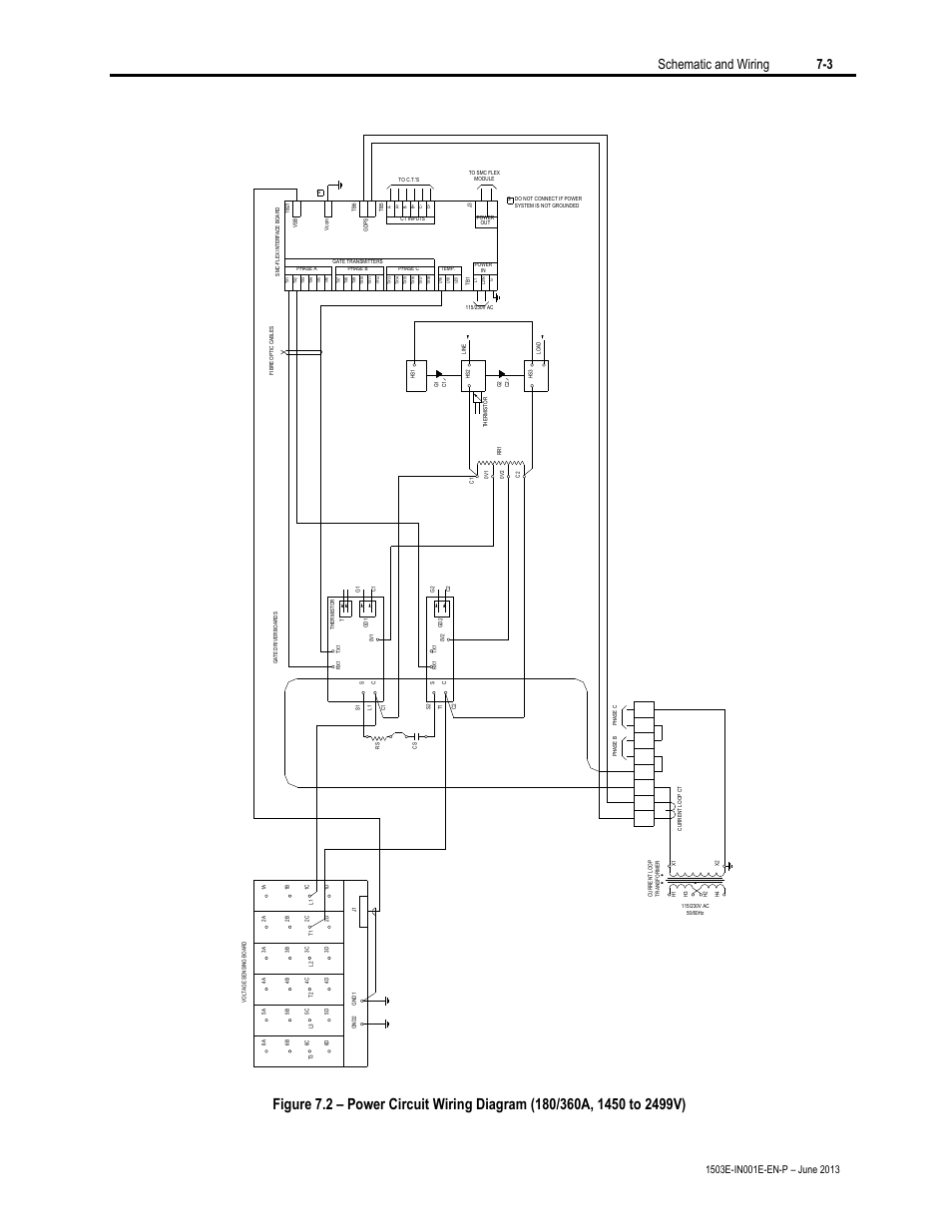 hight resolution of schematic and wiring 7 3 rockwell automation mv smc flex oem components user manual