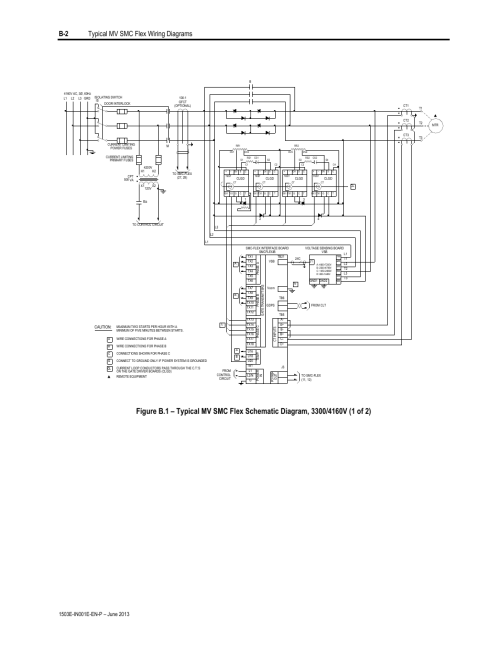 small resolution of b 2 typical mv smc flex wiring diagrams rockwell automation mv smc chevy truck flex b