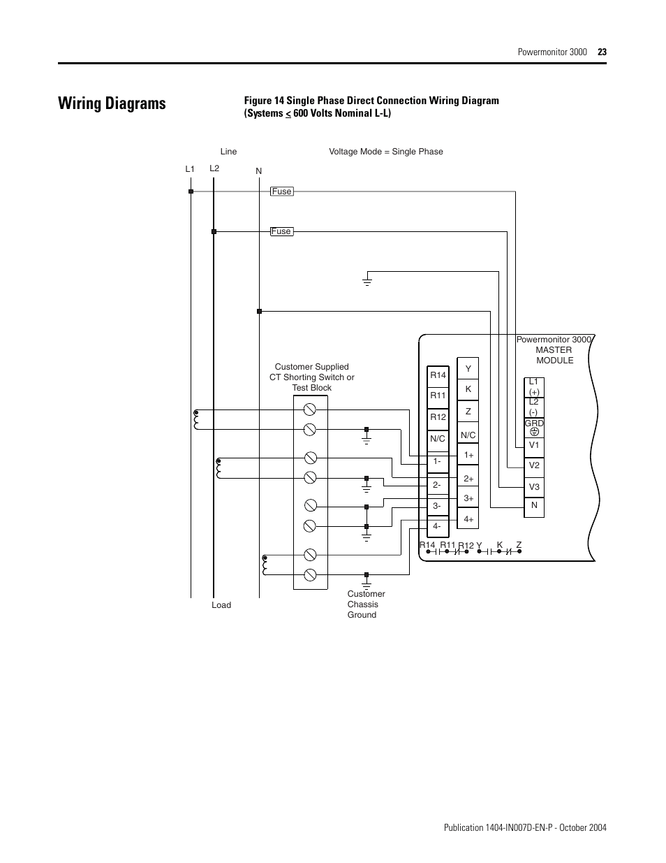 hight resolution of wiring diagrams rockwell automation 1404 m4 m5 m6 m8 powermonitor 3000 installation instructions prior to firmware rev 3 0 user manual page 23 66