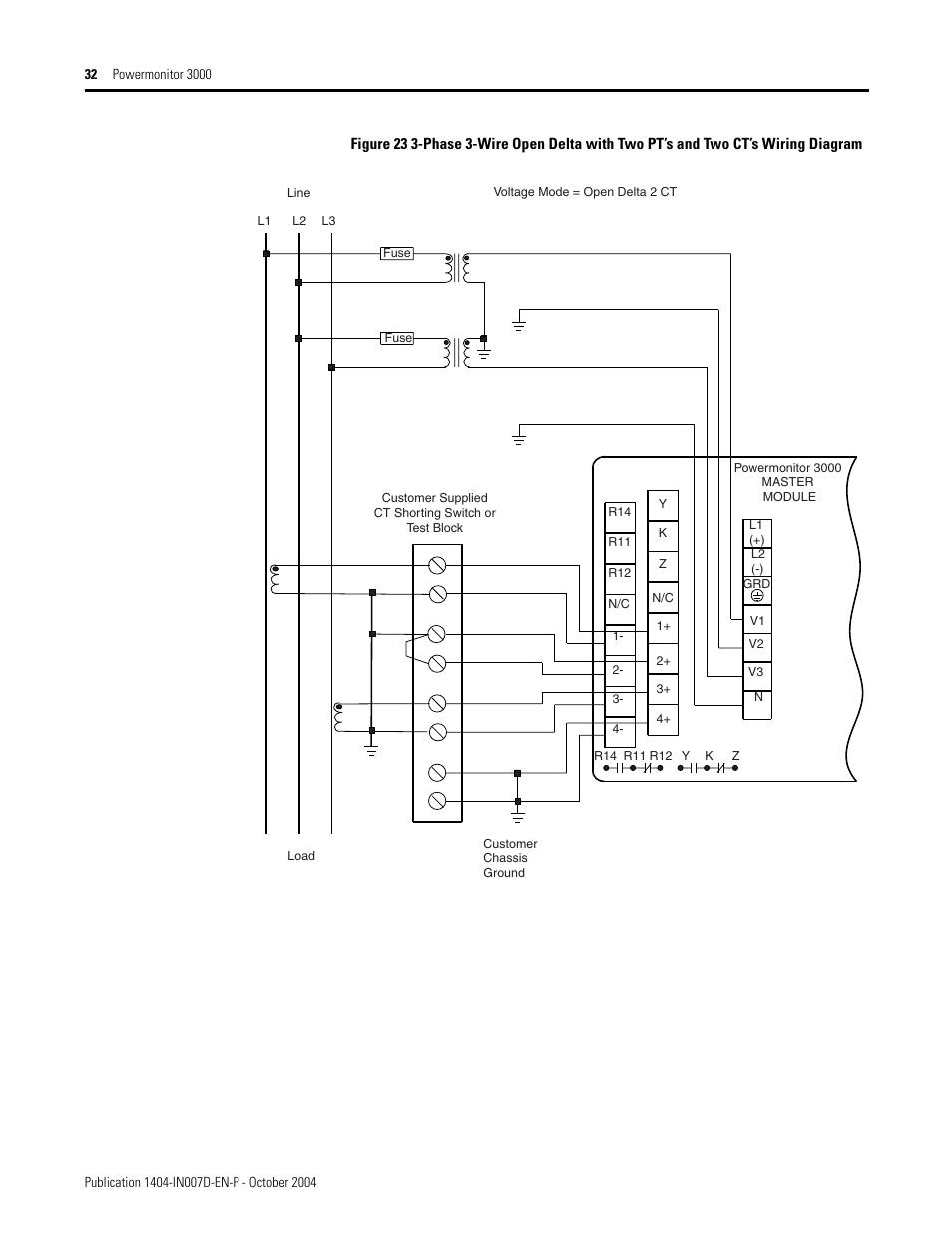 medium resolution of rockwell automation 1404 m4 m5 m6 m8 powermonitor 3000 installation instructions prior to firmware rev 3 0 user manual page 32 66