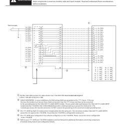 warning v wiring diagrams cont d rockwell automation 1492 cm1771 la005 analog i o conversion module user manual page 6 8 [ 954 x 1235 Pixel ]