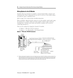 wiring options for the i o module rockwell automation 1769 ob32t compact 32 point solid state 24v dc source output module user manual page 12 24 [ 954 x 1235 Pixel ]