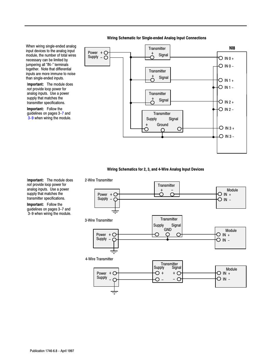 medium resolution of rockwell automation 1746 ni8 slc 500 analog input modules user manual user manual page 29 91