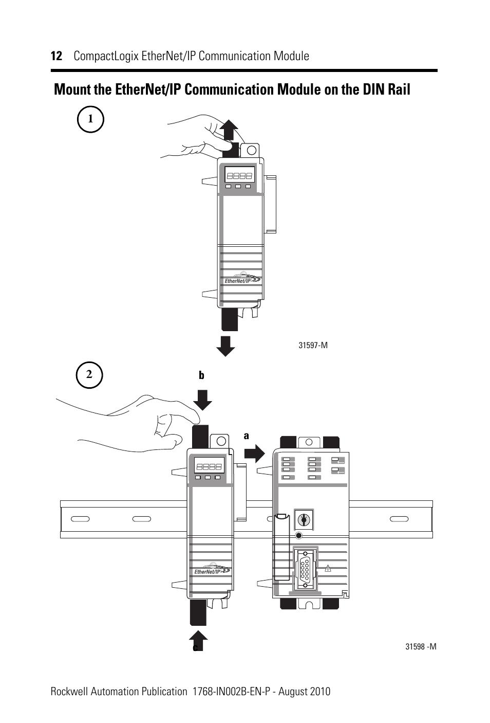 Rockwell Automation 1768-ENBT CompactLogix EtherNet/IP