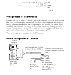 proform mc45 wiring diagram block wiring diagram explanation source wiring options for the i o module [ 954 x 1475 Pixel ]